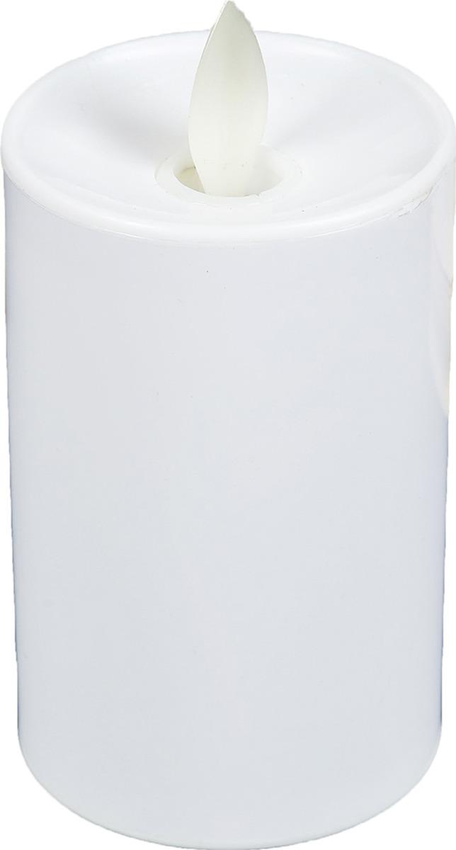 Ночник Risalux Чайная свеча, LED, 3746965, белый, 8 х 5 х 5 см