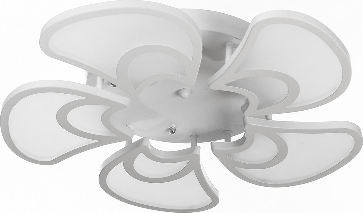 Люстра BayerLux Винт, LED, 10W, 3841015, белый, 60 х 60 х 14 см