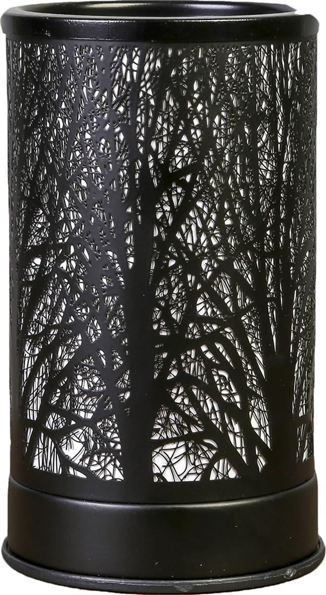 Аромасветильник Risalux Деревья, E14, 25W, 3924216, черный, 10,5 х 10,5 х 18 см