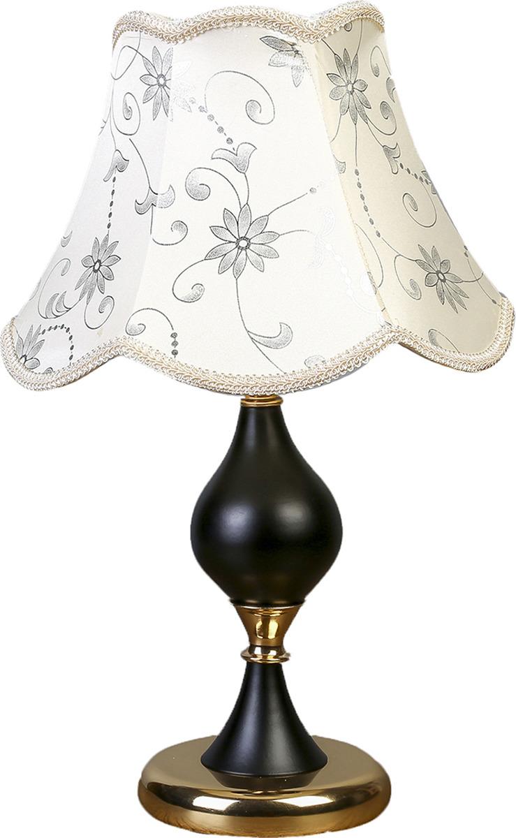 Настольный светильник Risalux Белла E27, 40W, E27, 40 Вт настольный светильник risalux каладиум e27 40w 3742781 белый 23 х 23 х 40 5 см