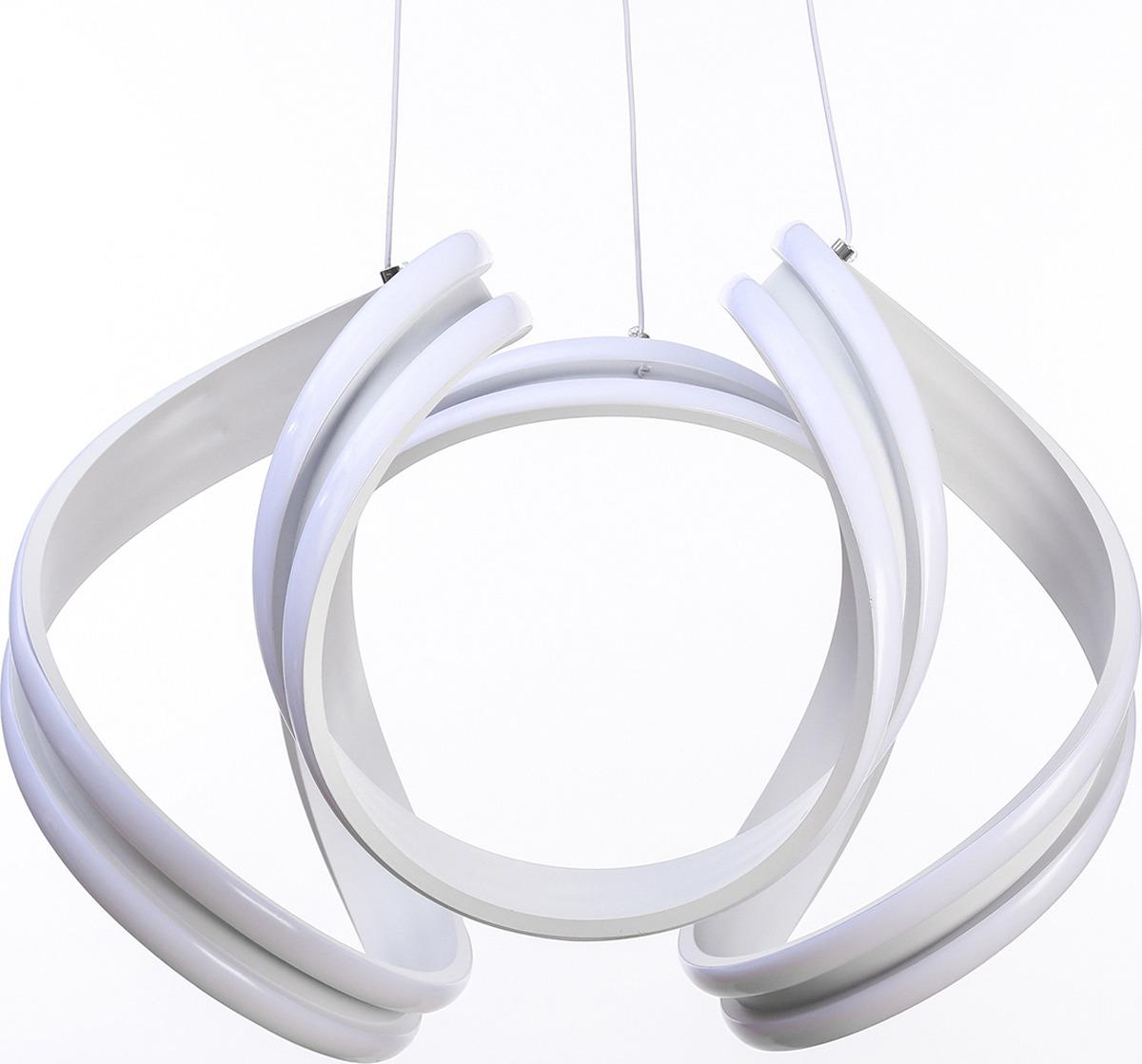 Люстра BayerLux Кудри, LED, 100W, 3940810, 44 х 44 х 33 см