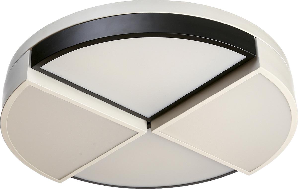 Люстра BayerLux Дольки, LED, 100W, 3945614, белый, 50 х 14 х 50 см