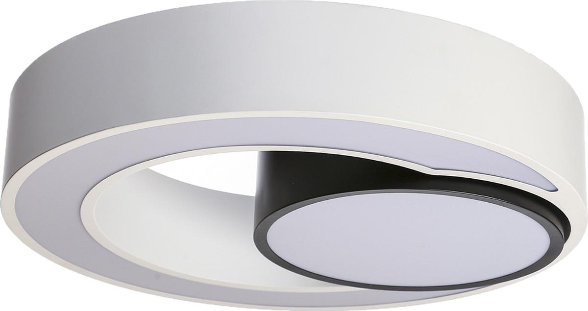 Люстра BayerLux Лаура, LED, 96W, 3945615, белый, 50 х 10 х 50 см