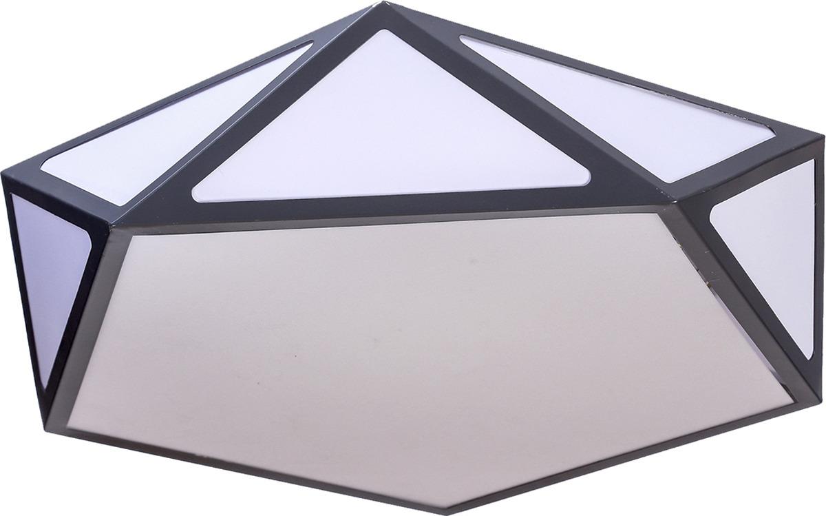 Люстра BayerLux Новента, LED, 72W, 3950858, серый, 49 х 46,5 х 10 см