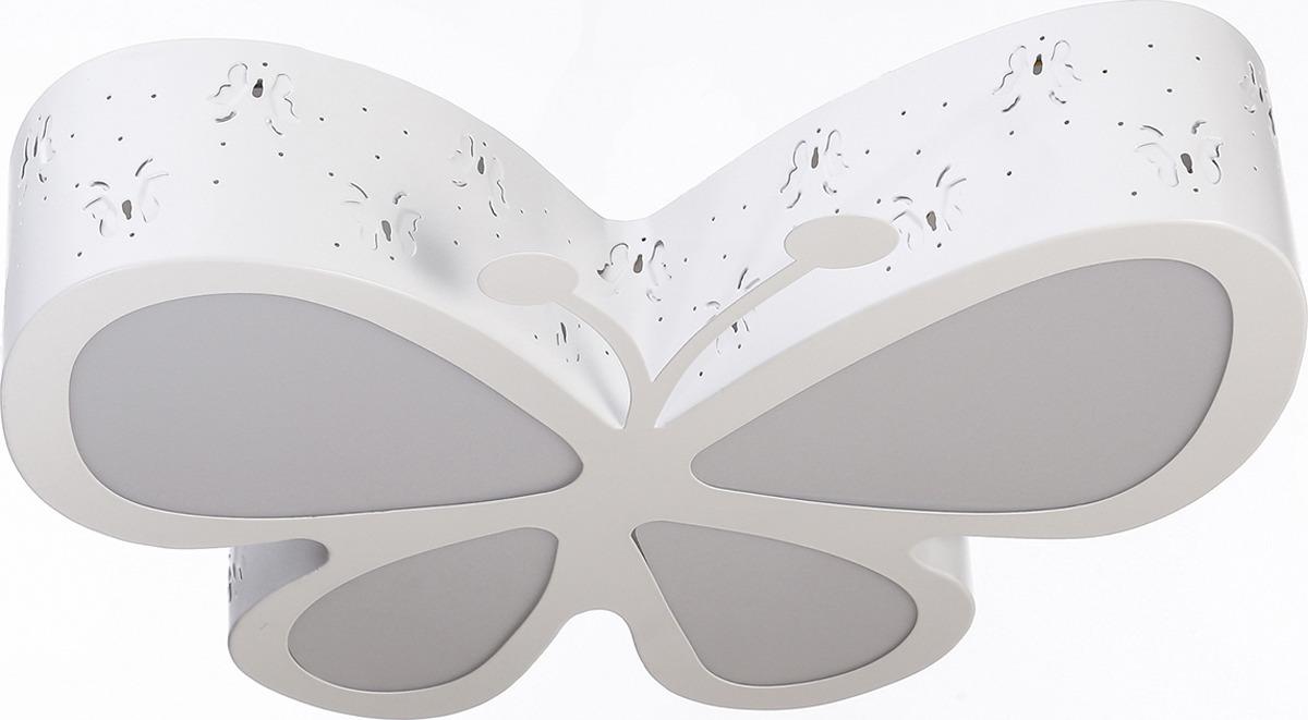 Люстра BayerLux Бабочка, LED, 48W, 3950866, белый, 52 х 46,5 х 10 см