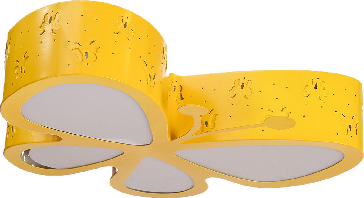 Люстра BayerLux Бабочка, LED, 48W, 3950867, желтый, 52 х 46,5 х 10 см