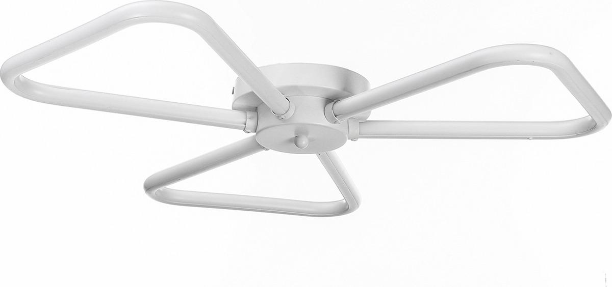 Люстра BayerLux Пропеллер, LED, 82W, 3984142, белый, 52 х 52 х 10 см