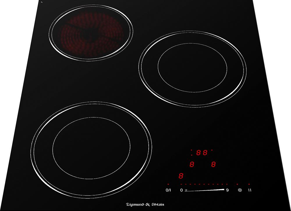 Варочная панель  CNS 139. 45 BX, черный • 2 зоны с расширением • Фронтальное сенсорное управление слайдером...