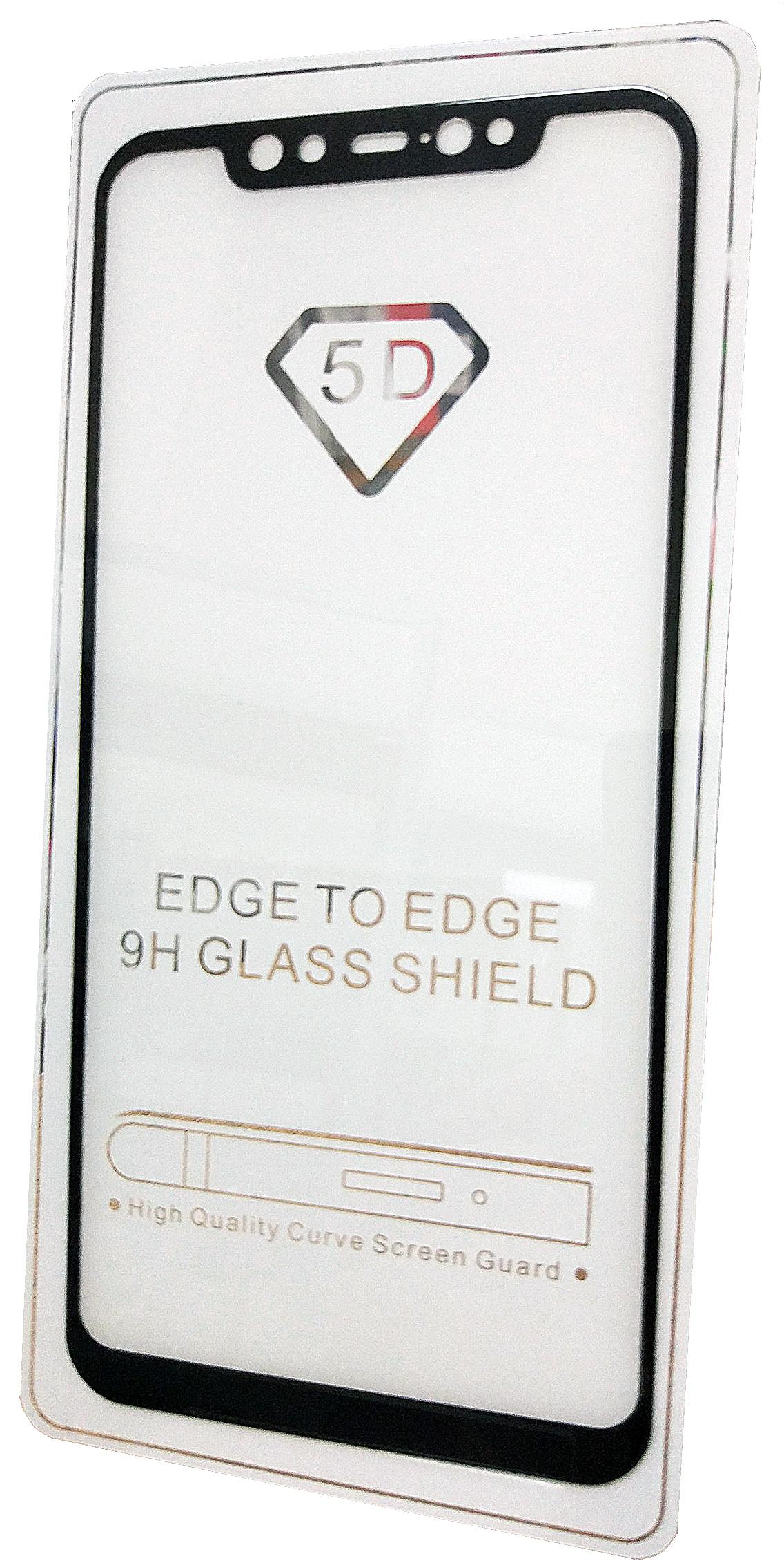 Защитное стекло Xiaomi Mi8 (Full Glue полная проклейка черная рамка), черный защитное стекло для xiaomi mi8 se caseguru full glue изогнутое по форме дисплея с черной рамкой
