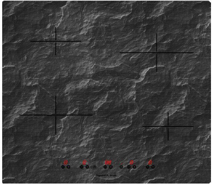 Варочная панель  CIS 239. 60 BX, темно-серый Индивидуальное управление каждым элементом 9 уровней нагрева Таймер...