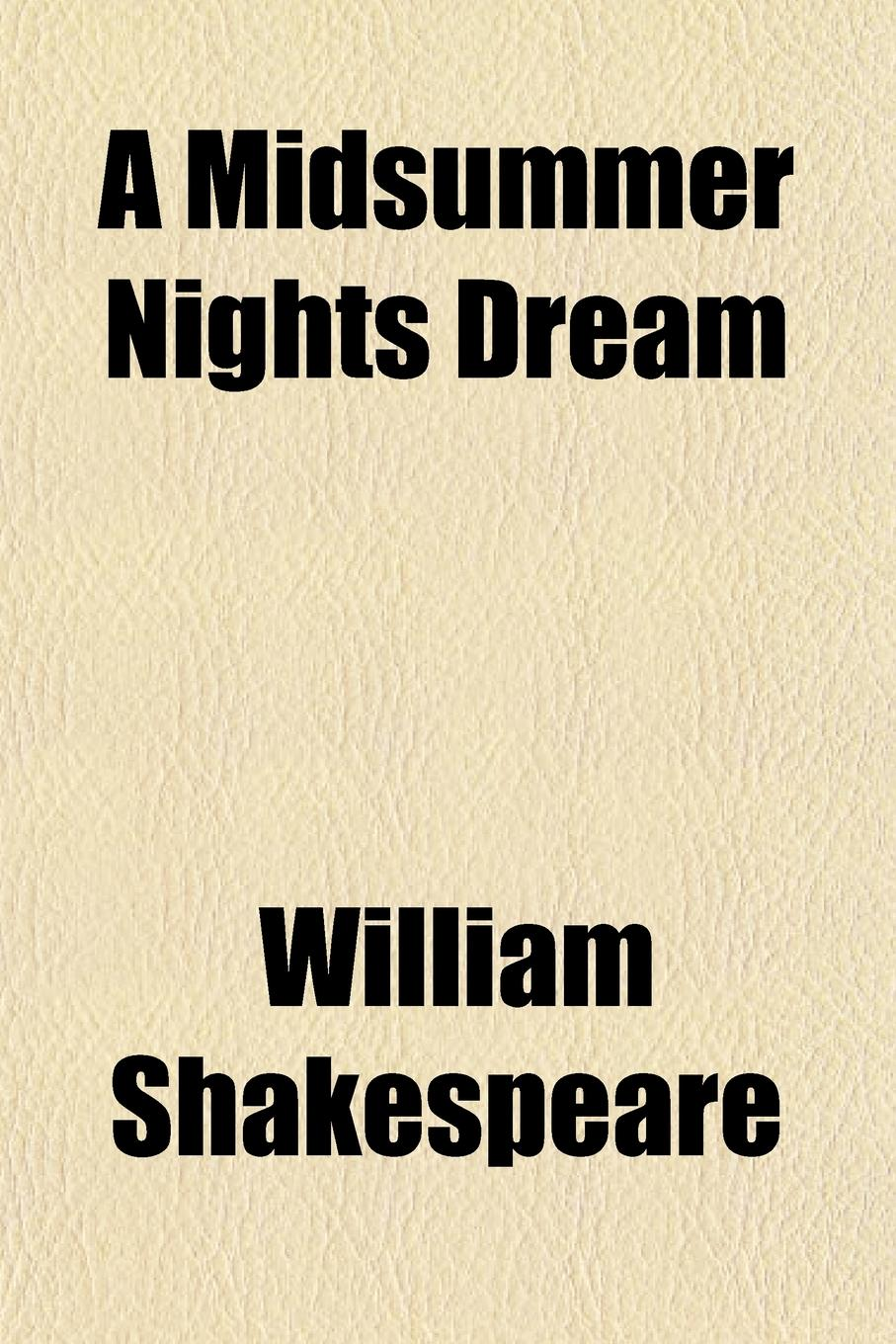 William Shakespeare A Midsummer Nights Dream free shipping kayipht cm400ha1 24h can directly buy or contact the seller