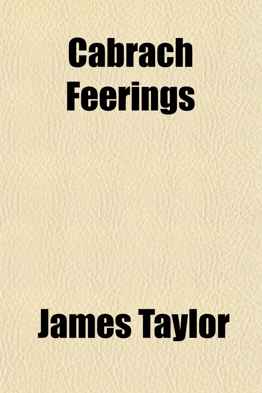 James Taylor Cabrach Feerings