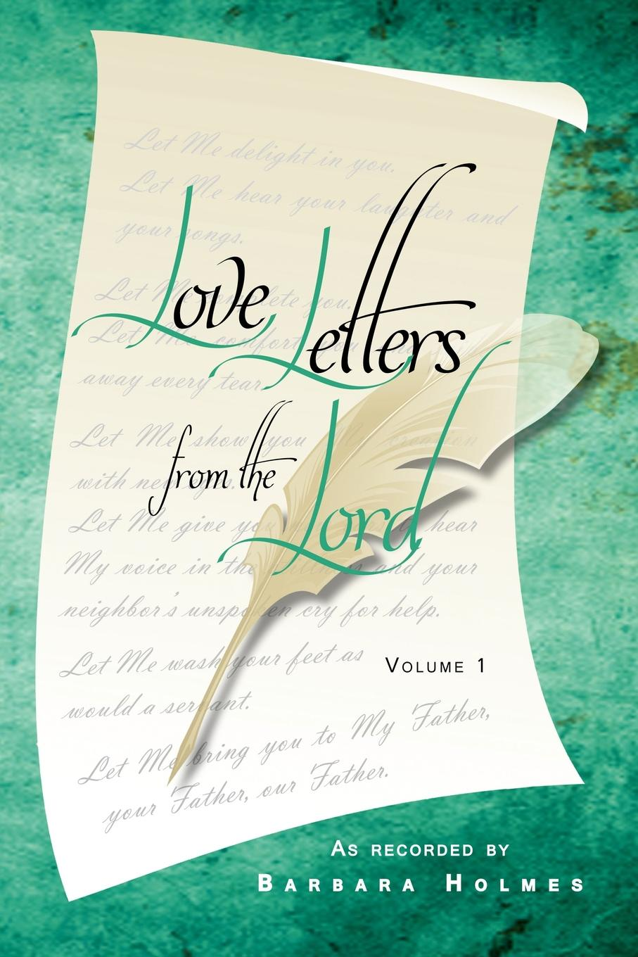Barbara Holmes Love Letters from the Lord - Vol. 1 цены
