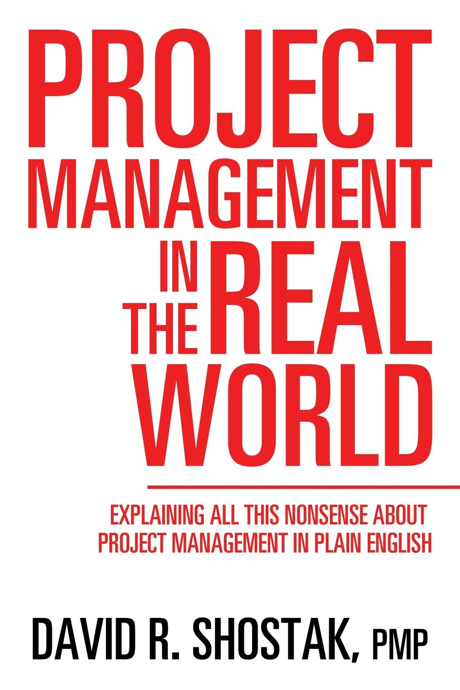 PMP David R. Shostak Project Management in the Real World. Explaining All This Nonsense About Project Management in Plain English rory burke project management leadership building creative teams
