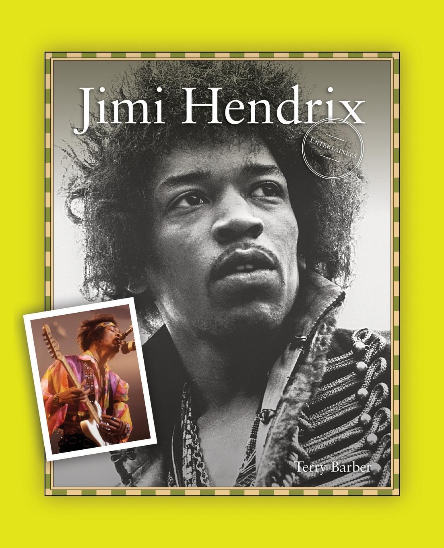 Terry Barber Jimi Hendrix плектр dunlop jimi hendrix 12 medium