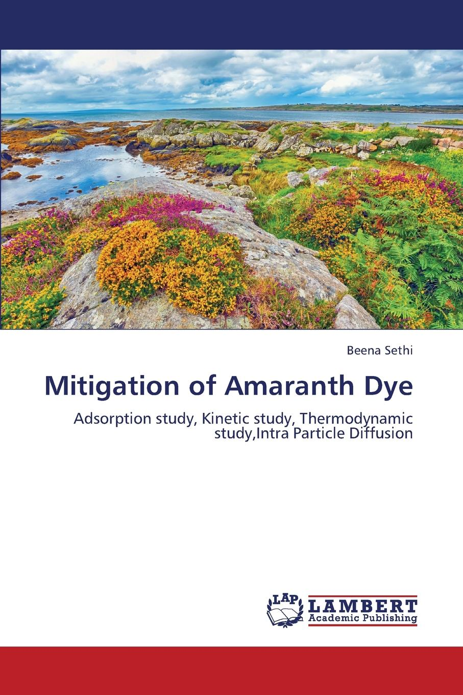 Sethi Beena Mitigation of Amaranth Dye textbook on adsorption of heavy metals from aqueous systems