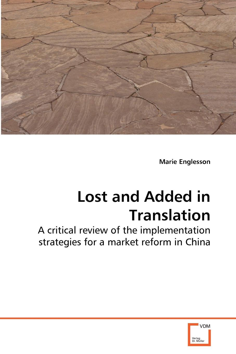 Marie Englesson Lost and Added in Translation halil kiymaz market microstructure in emerging and developed markets price discovery information flows and transaction costs