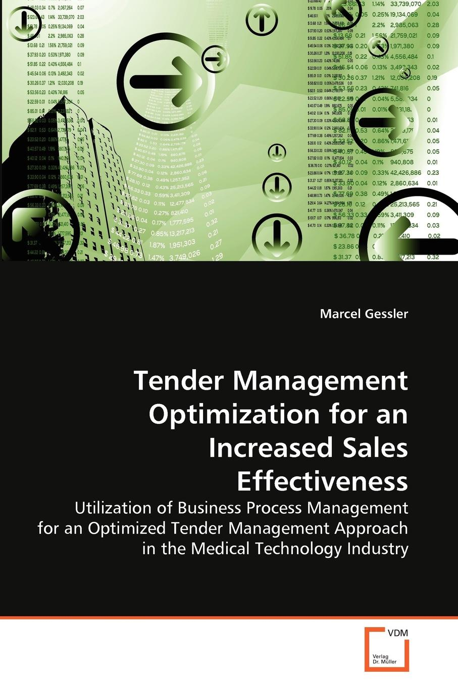 Marcel Gessler Tender Management Optimization for an Increased Sales Effectiveness комплект buderus перенастройки на сжиженный газ b p для u072 18 u072 12 wbn6000 18 wbn6000 12 87376010800