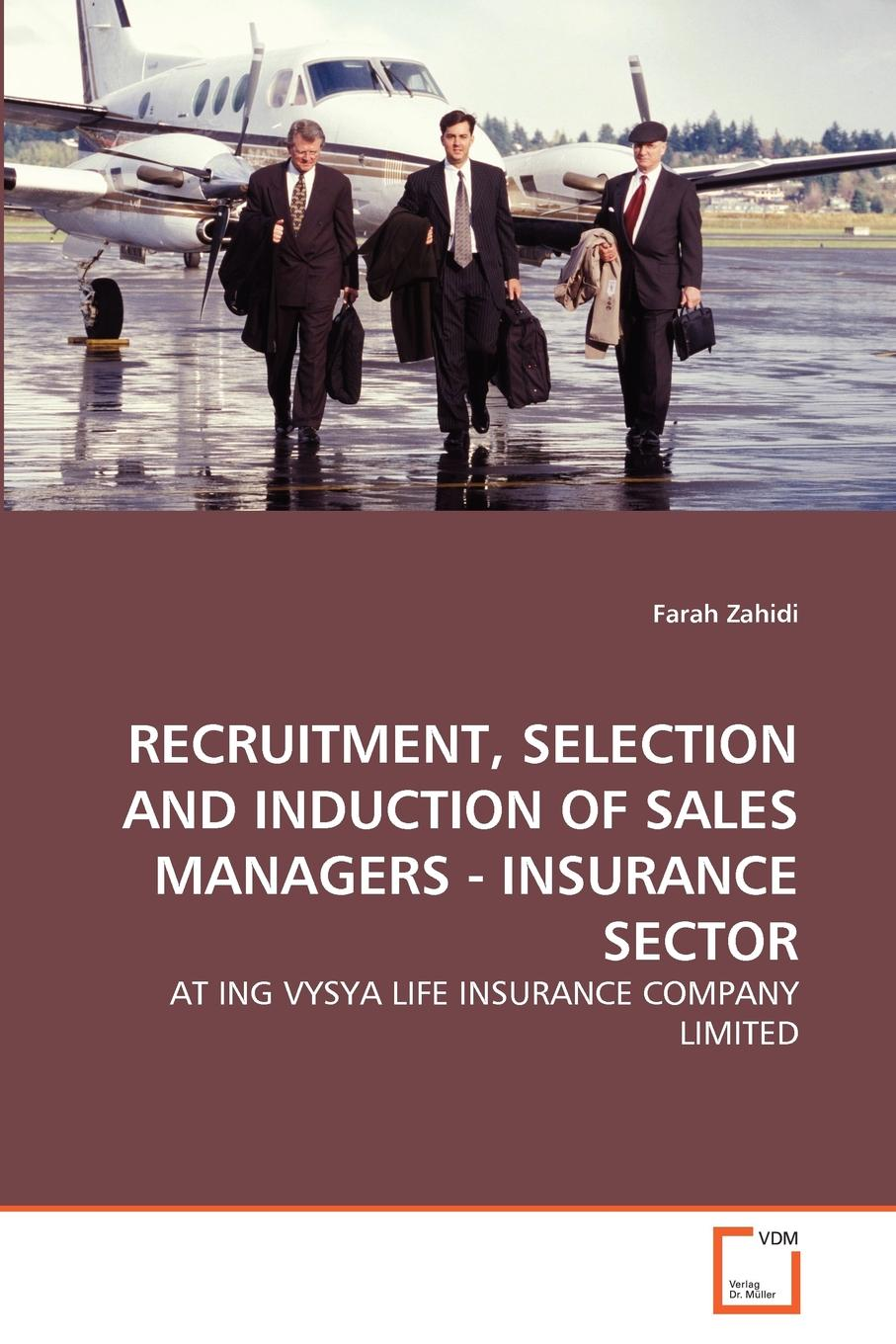 Farah Zahidi RECRUITMENT, SELECTION AND INDUCTION OF SALES MANAGERS - INSURANCE SECTOR journey recruitment