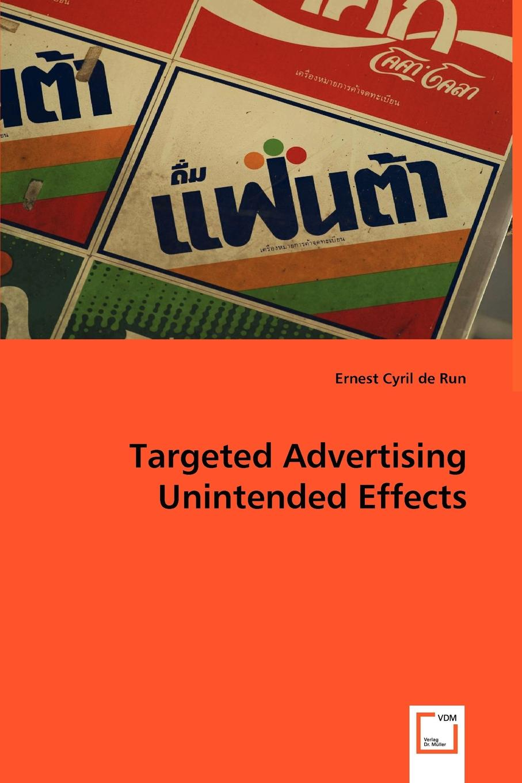 Ernest Cyril de Run Targeted Advertising Unintended Effects hong cheng the handbook of international advertising research