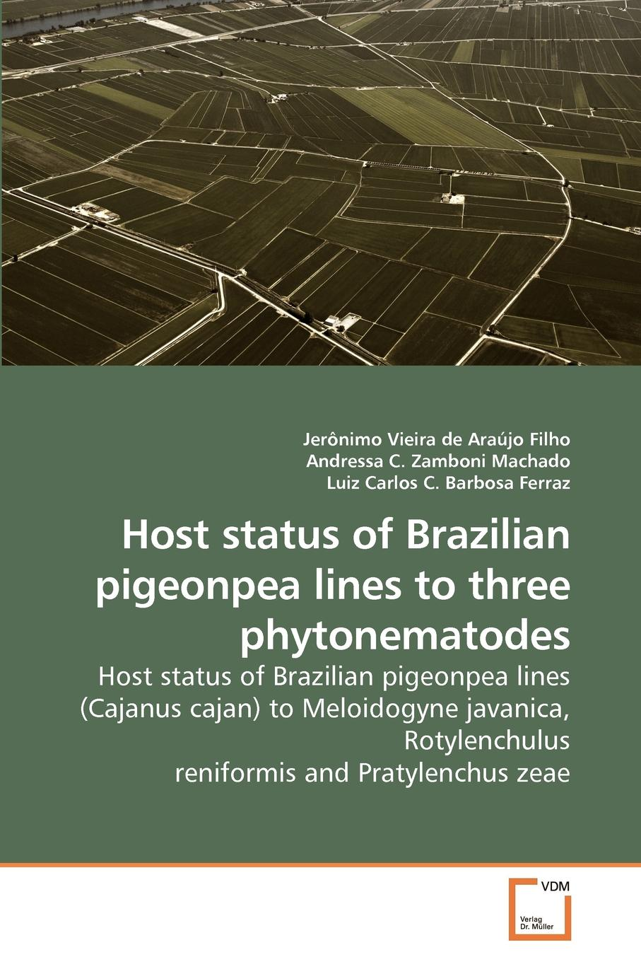 Jerônimo Vieira de Araújo Filho Host status of Brazilian pigeonpea lines to three phytonematodes fractured lines out of line 4