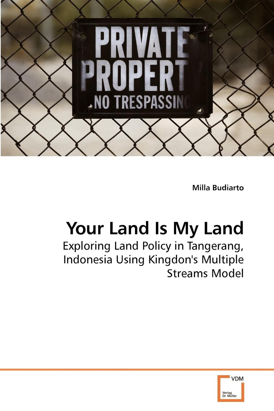 Milla Budiarto Your Land Is My Land цена