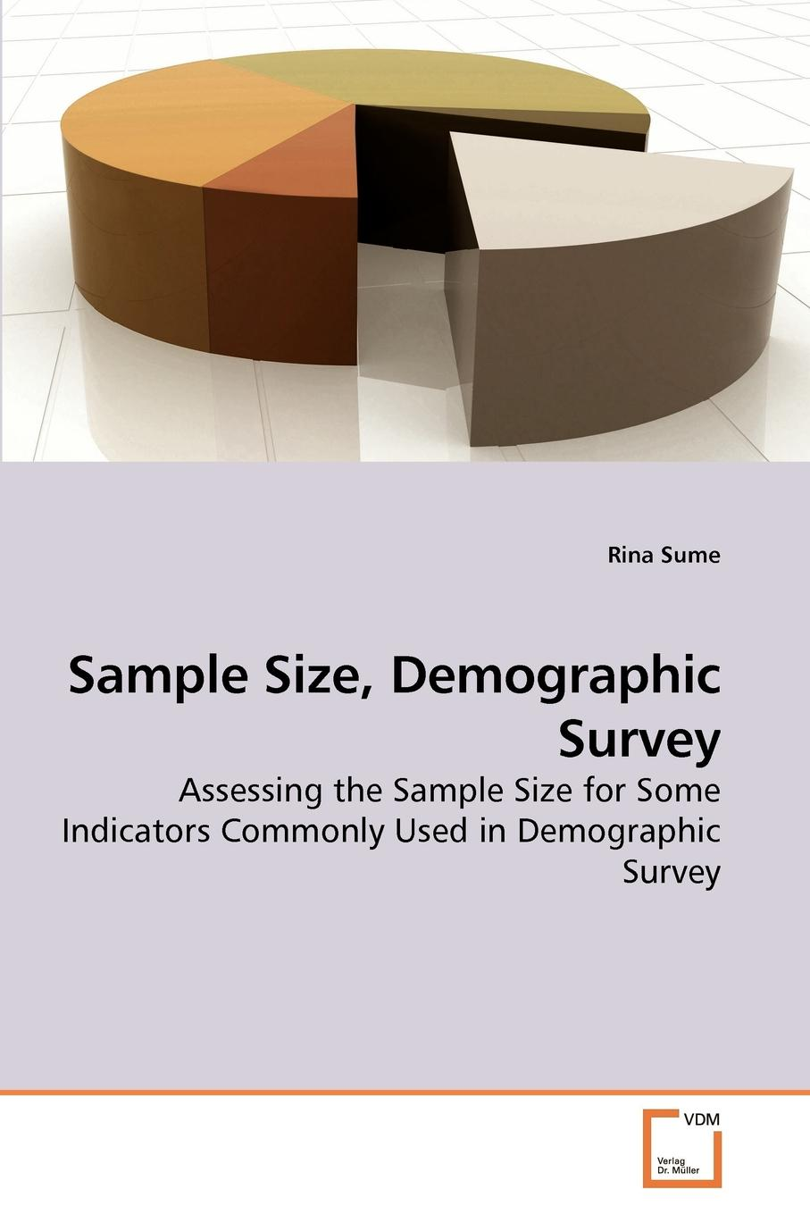 Rina Sume Sample Size, Demographic Survey reports of the survey botanical series volume 9