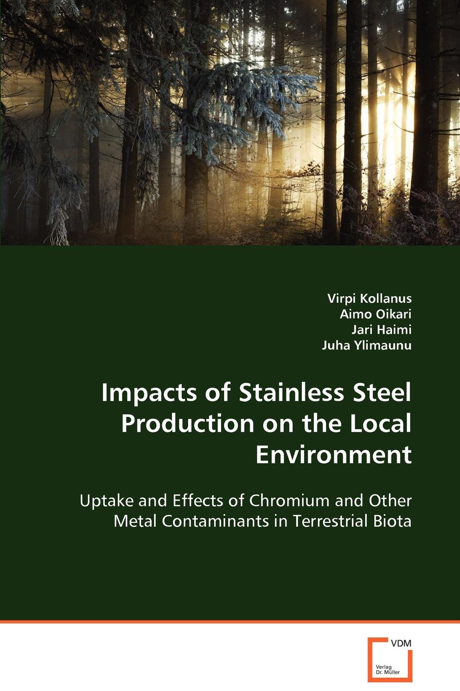 Фото - Virpi Kollanus, Aimo Oikari, Jari Haimi Impacts of Stainless Steel Production on the Local Environment agent based snort in distributed environment