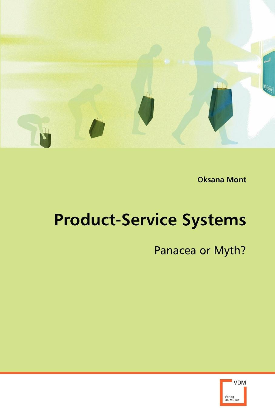 Oksana Mont Product-Service Systems Panacea or Myth. original perle systems copyright product