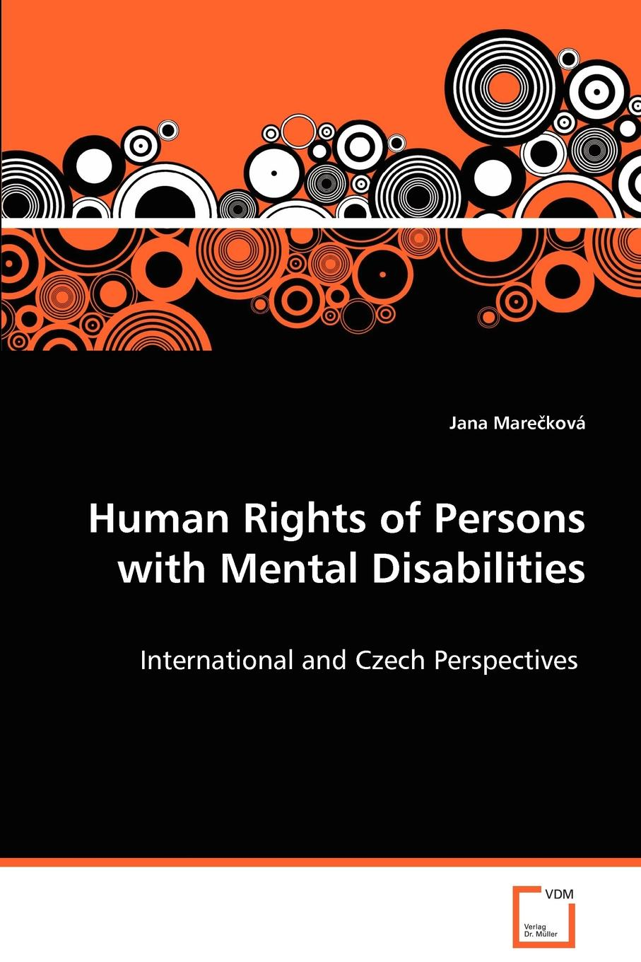 цены на Jana Marecková Human Rights of Persons with Mental Disabilities  в интернет-магазинах