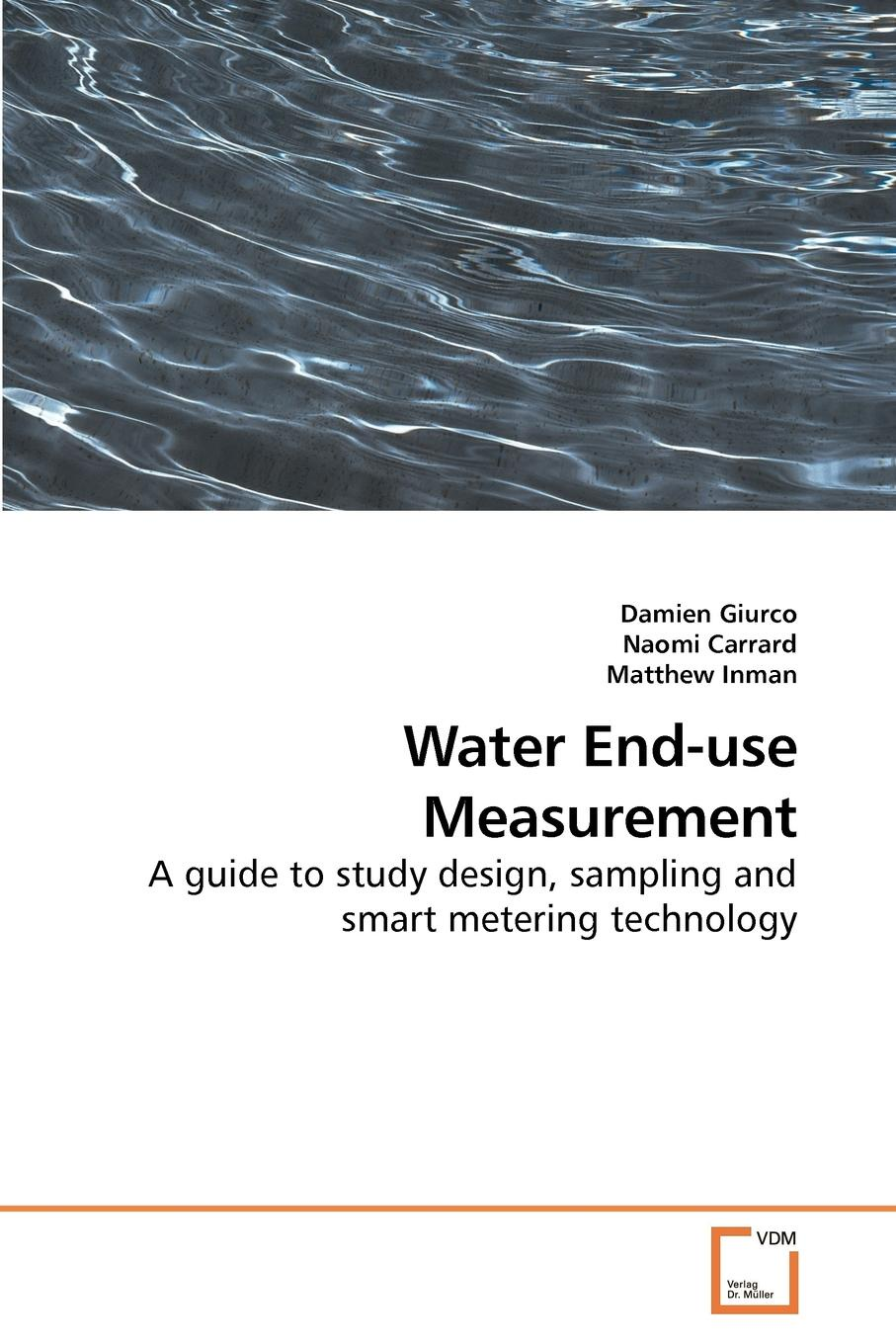 Damien Giurco Water End-use Measurement voeller john g water safety and water infrastructure security