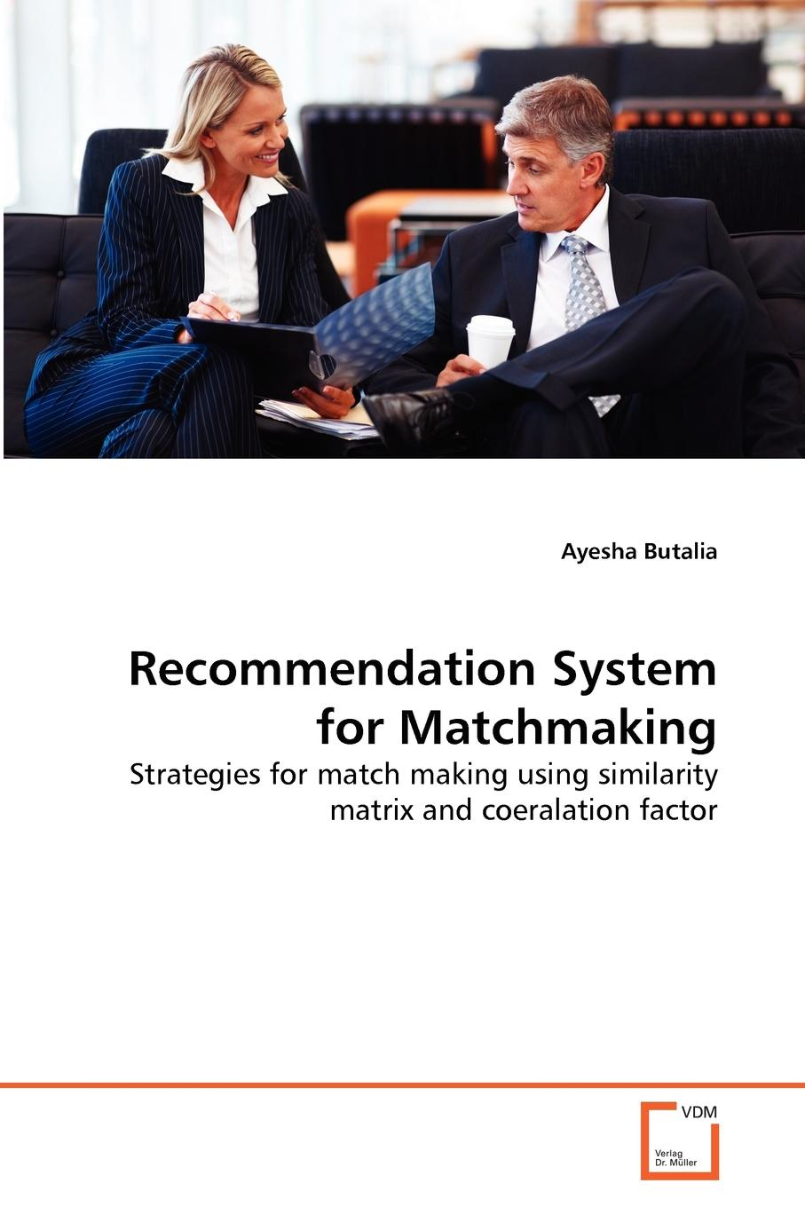 Фото - Ayesha Butalia Recommendation System for Matchmaking agent based snort in distributed environment