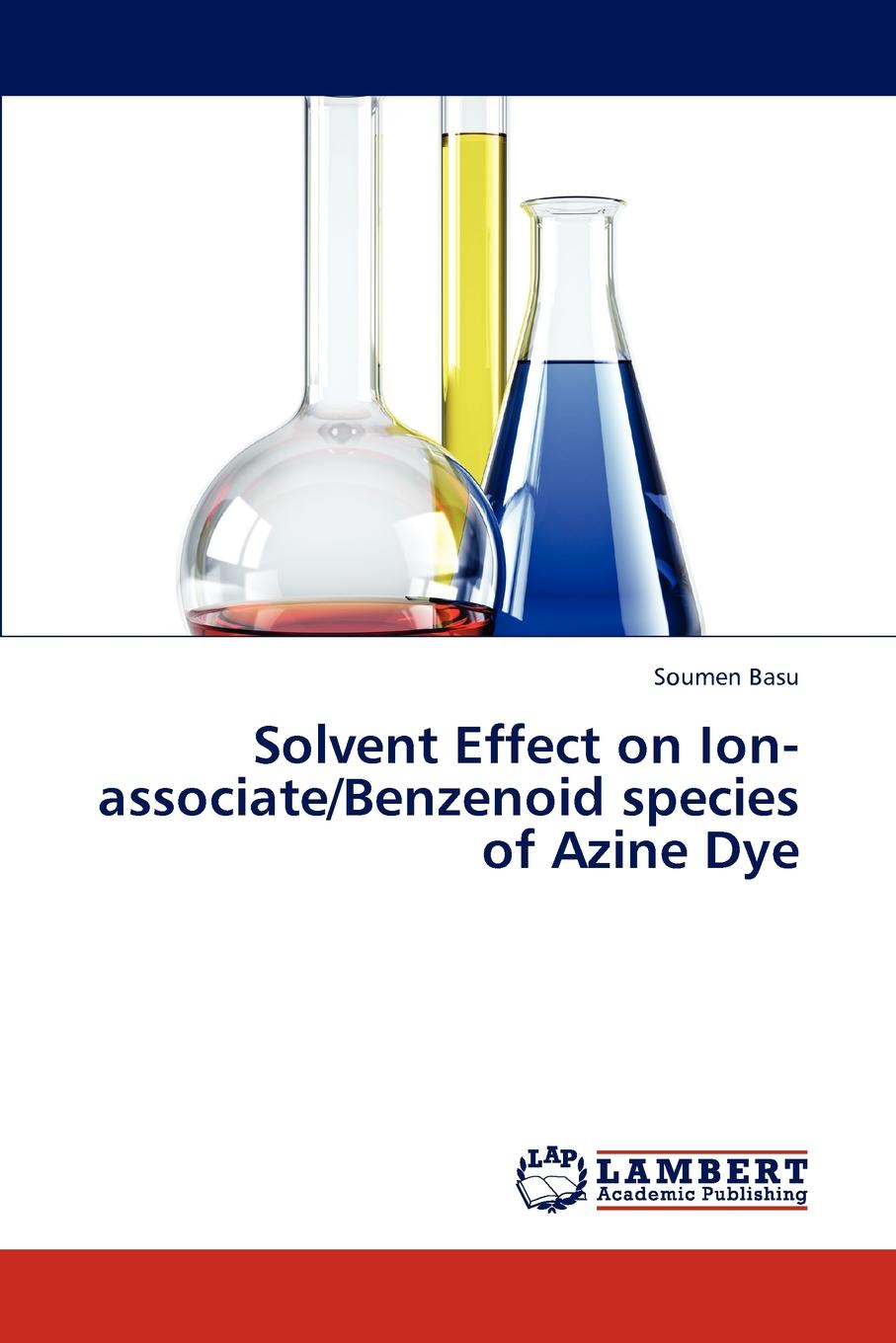 Basu Soumen Solvent Effect on Ion-associate/Benzenoid species of Azine Dye i philip silverstein the effect of varying humidities upon some physical properties of paper