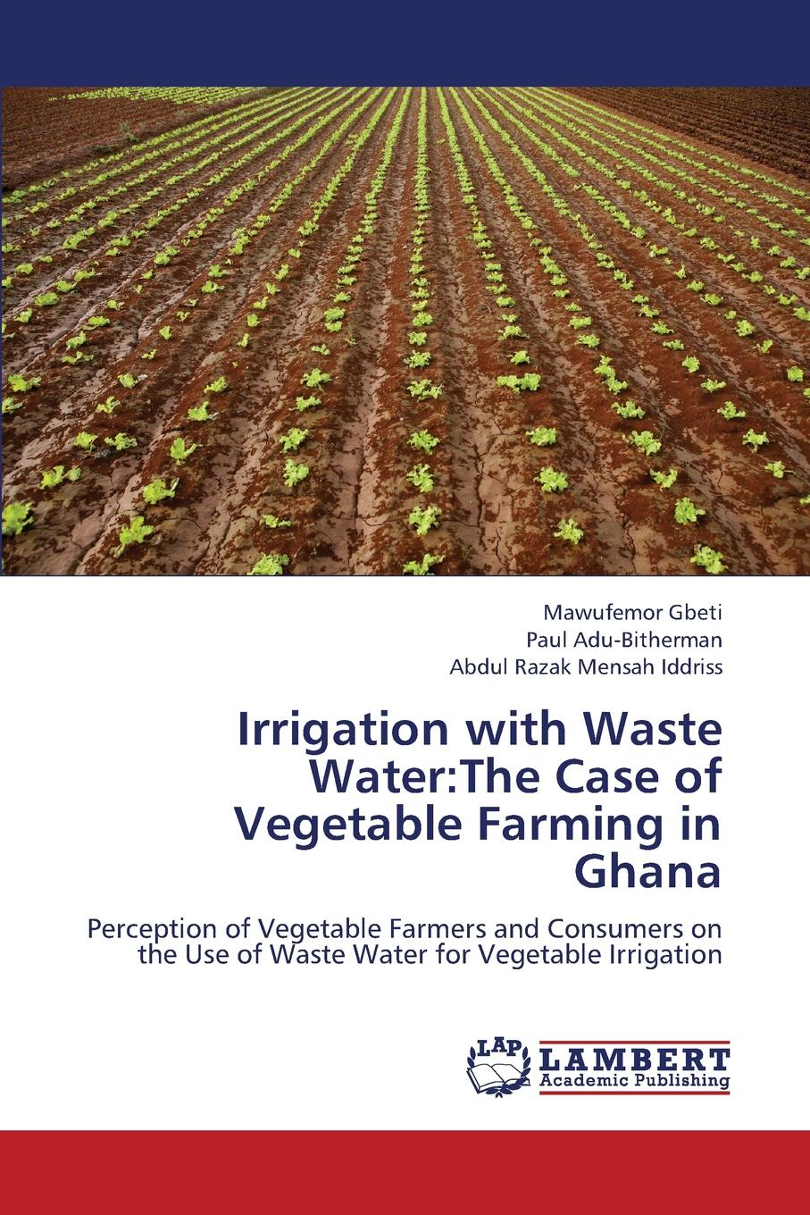 Gbeti Mawufemor, Adu-Bitherman Paul, Iddriss Abdul Razak Mensah Irrigation with Waste Water. The Case of Vegetable Farming in Ghana mj hammer hammer water and waste–water technology