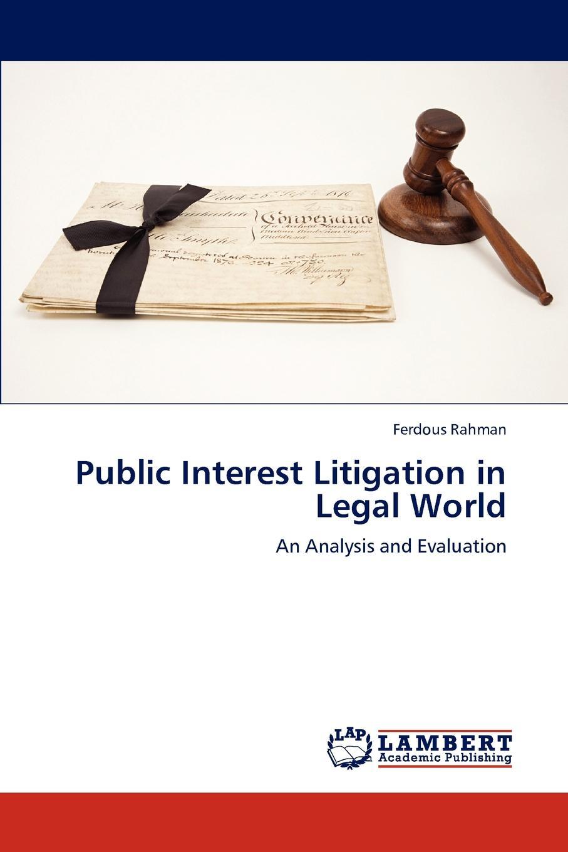 все цены на Rahman Ferdous Public Interest Litigation in Legal World онлайн