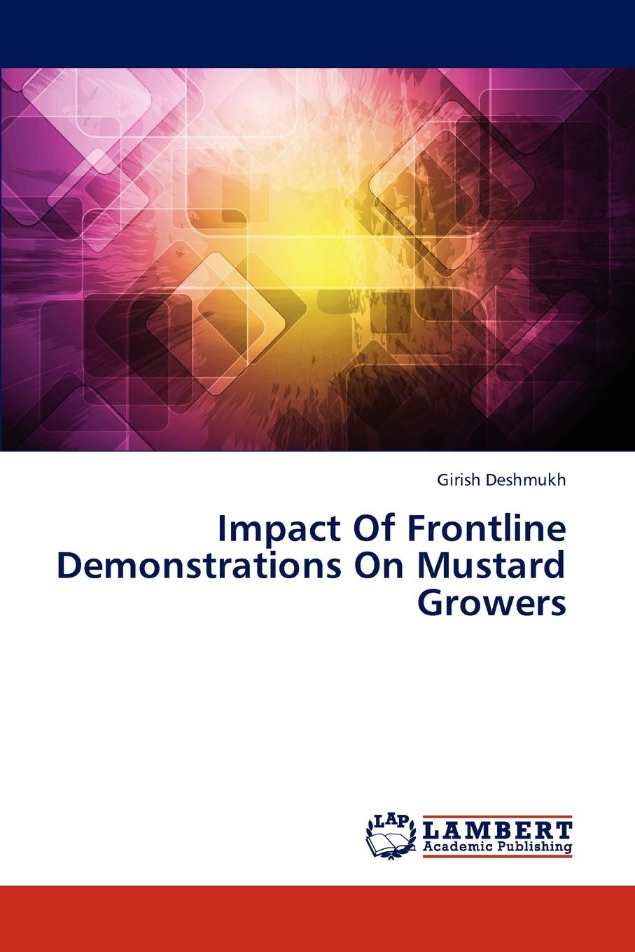 Deshmukh Girish Impact of Frontline Demonstrations on Mustard Growers grasscutter farming under intensive management in the humid tropics