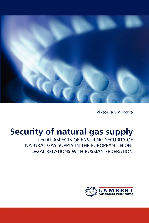 цена на Viktorija Smirnova Security of Natural Gas Supply