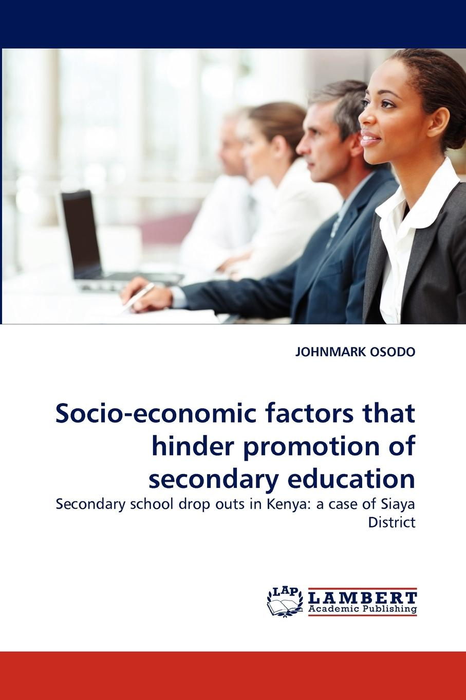 Johnmark Osodo Socio-Economic Factors That Hinder Promotion of Secondary Education economic and political impacts of business improvement district
