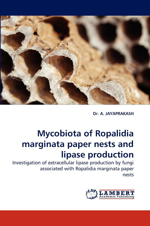 A. Jayaprakash, Dr a. Jayaprakash Mycobiota of Ropalidia Marginata Paper Nests and Lipase Production