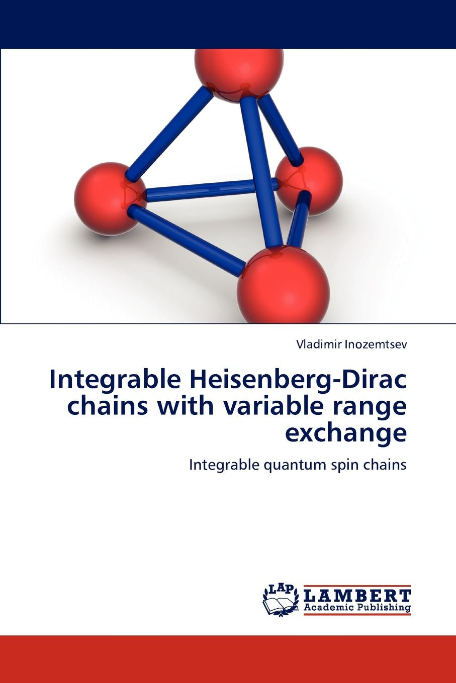 Inozemtsev Vladimir Integrable Heisenberg-Dirac Chains with Variable Range Exchange mhs2300a arbitrary waveform function signal generator cnc double channe of dds signal source sine square triangle 20mhz