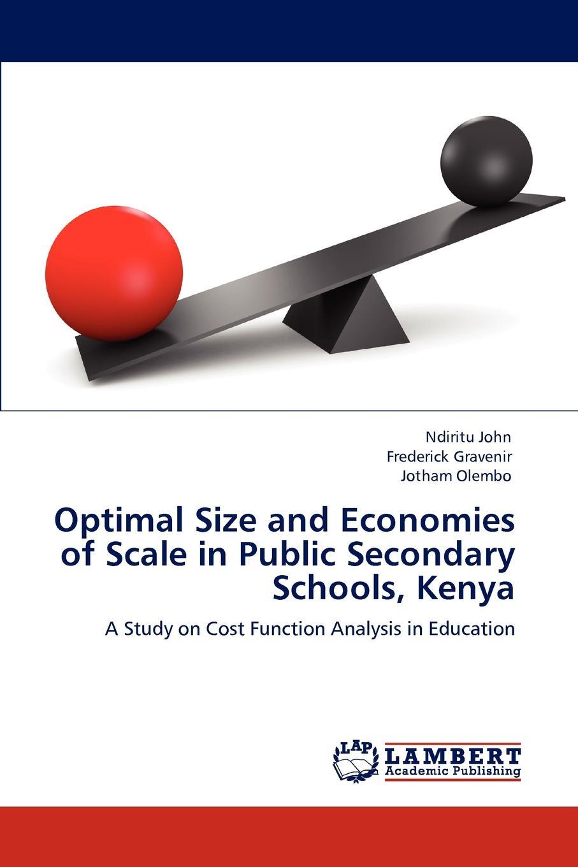 цены на Ndiritu John, Frederick Gravenir, Jotham Olembo Optimal Size and Economies of Scale in Public Secondary Schools, Kenya  в интернет-магазинах