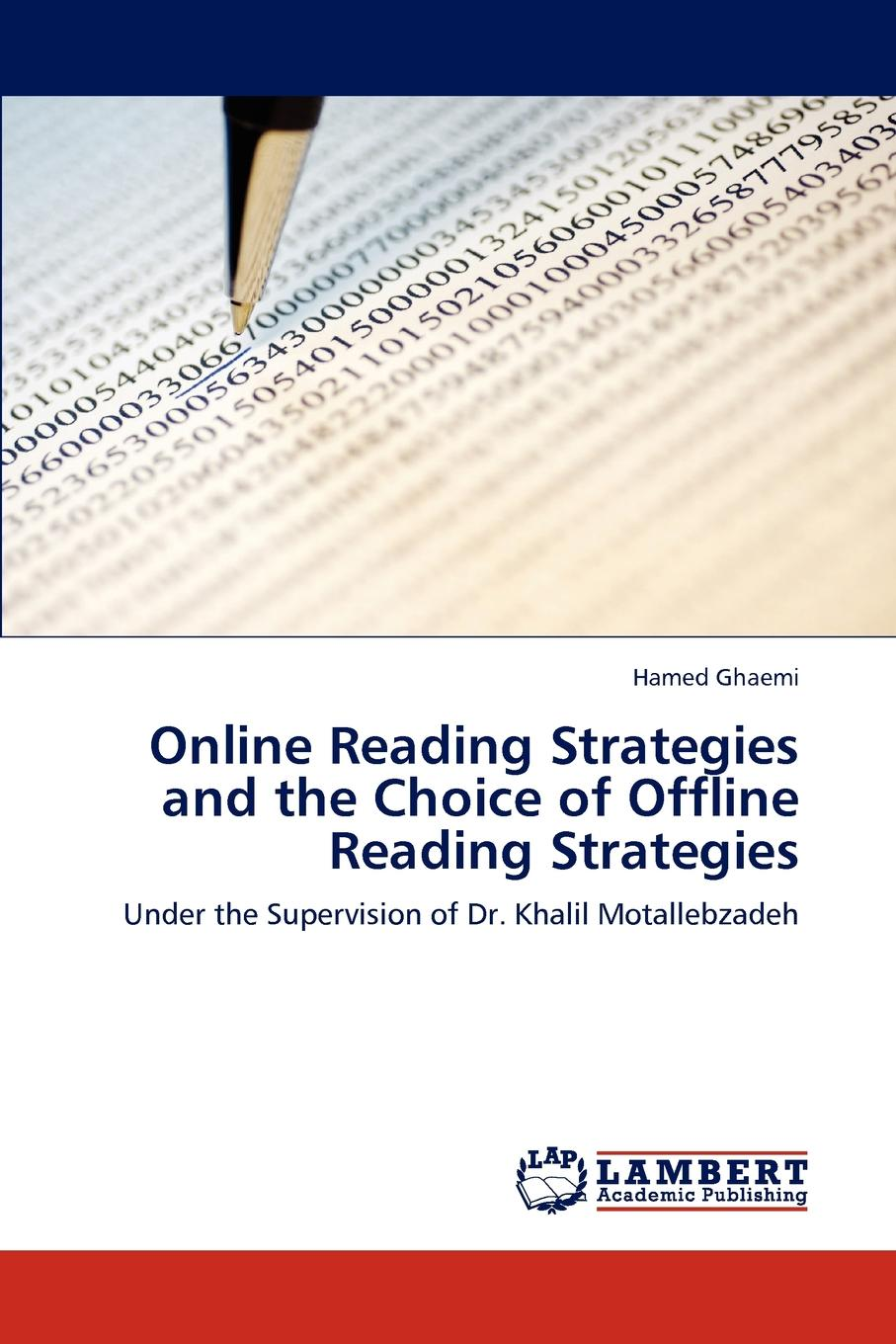 Hamed Ghaemi Online Reading Strategies and the Choice of Offline Reading Strategies the line