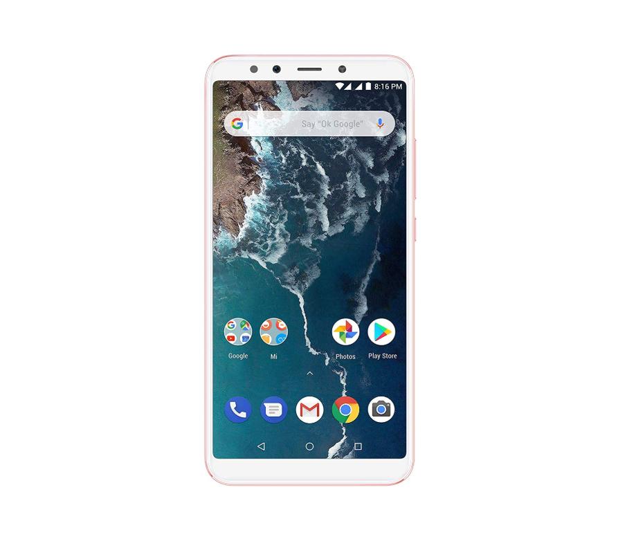 Смартфон Xiaomi Mi A2 4/64GB, розовый смартфон xiaomi mi a2 синий