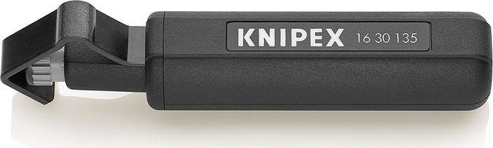 Инструмент для снятия изоляции Knipex, KN-1630135SB, темно-серый