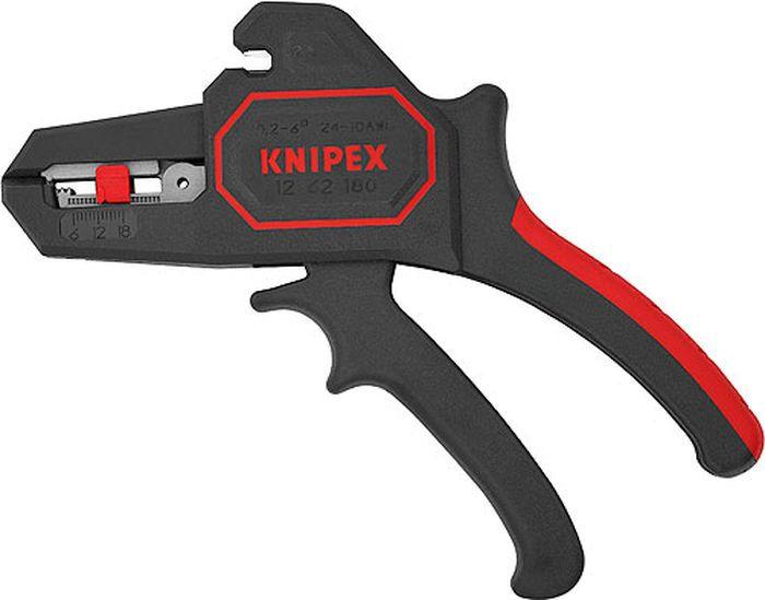 Стриппер Knipex, KN-1262180, красный, черный