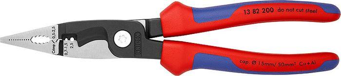 Инструмент для снятия изоляции Knipex, KN-1382200, красный, синий