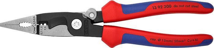 Инструмент для снятия изоляции Knipex, KN-1392200, красный, синий