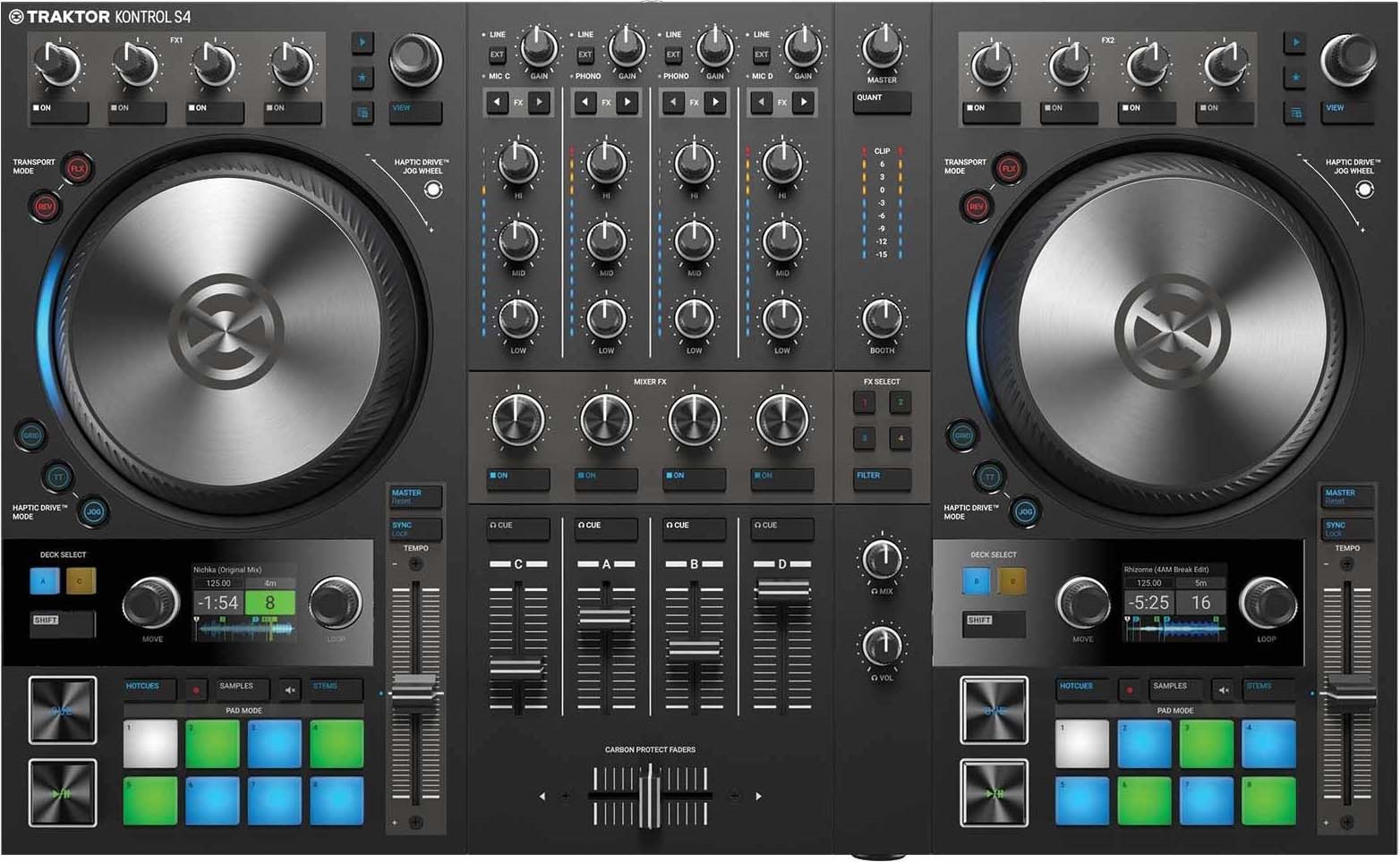 DJ-контроллер Native Instruments Traktor Kontrol S4 Mk3