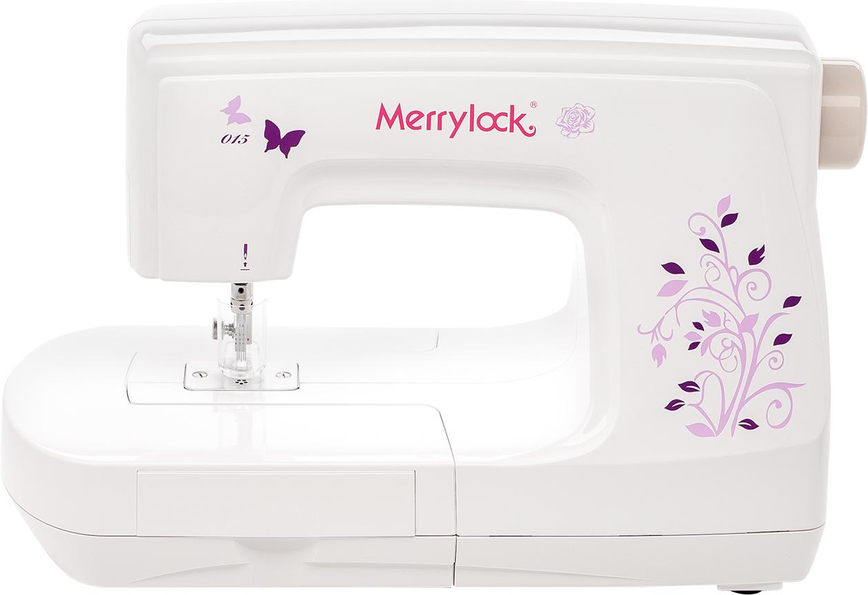 Оверлок Merrylock 015, белый