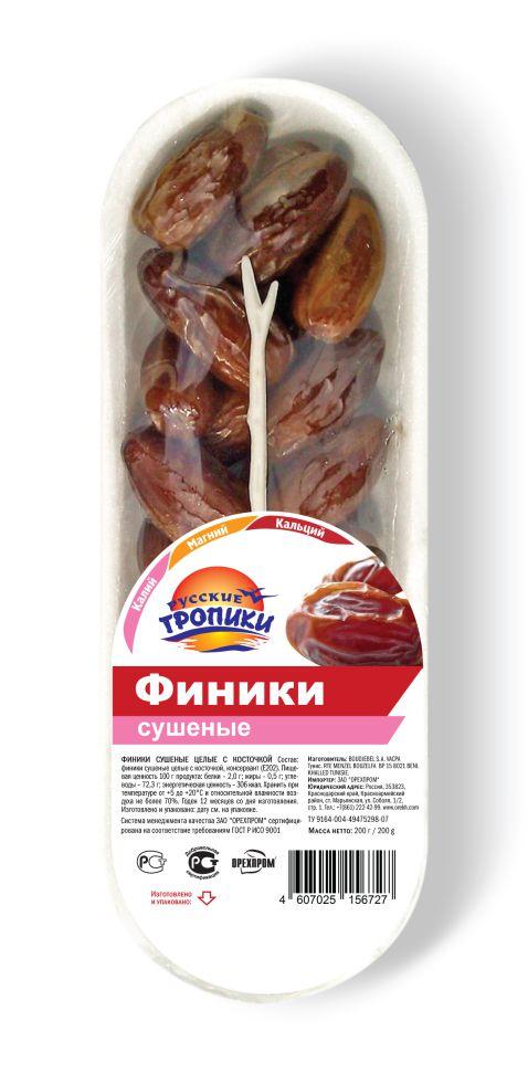 Финики на подложке 200г Русские тропики витамины магний в6 инструкция цена